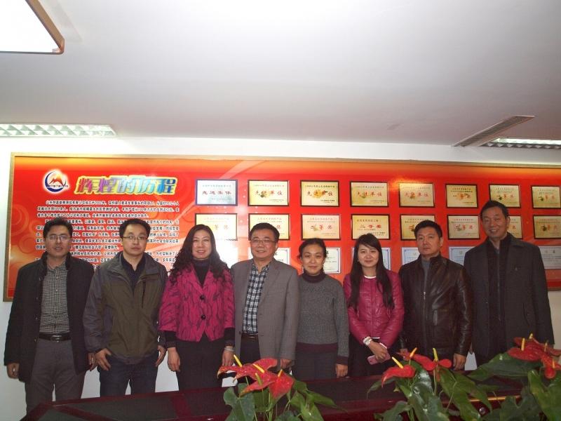 《中国测绘报》来公司采访